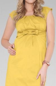 rochie pentru gravide neon