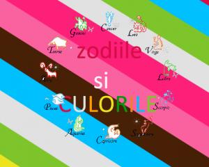 zodiile si culorile