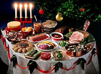 Idei pentru decorarea meselor de sarbatoare