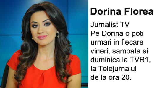 Dorina Florea moderator TVR1 Conferinta Mama si copilul