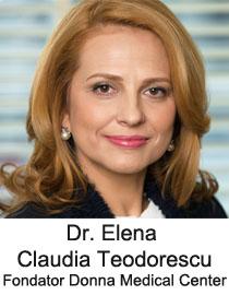 "Elena Claudia Teodorescu card prezentare - Conferinta ""Sanatate, frumusete, feminitate"""