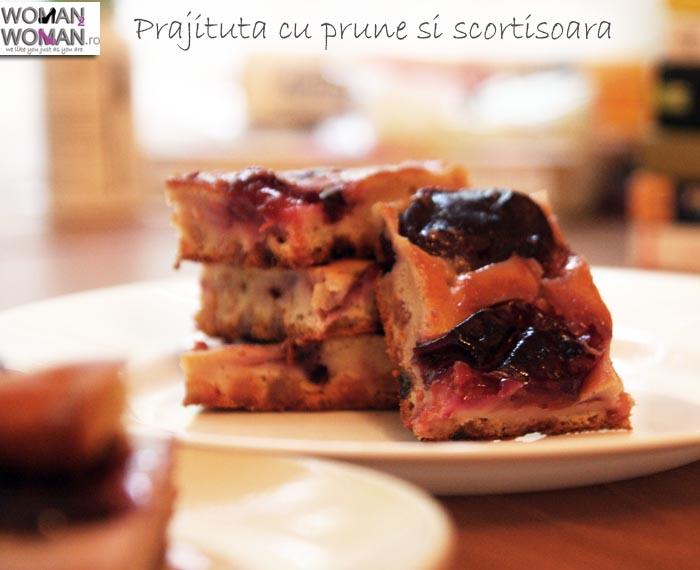 prajitura cu prune si scortisoara