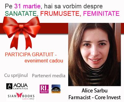 Alice Sarbu - carte vizita
