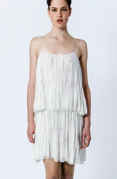 Alodie-rochie scurta de mireasa / Luminita Cosleacara - Rochia scurta de mireasa, o alegere indrazneata