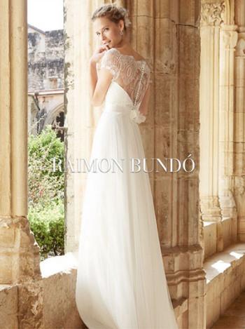 Raimon Bundo - rochii de mireasa / Luminita Cosleacara recomanda rochii de mireasa in culori pastel