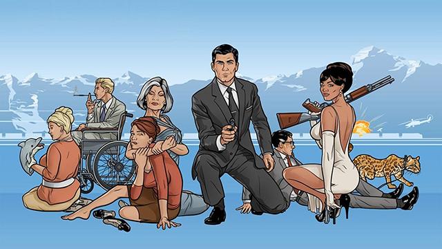 Archer / Desene animate pentru adulti