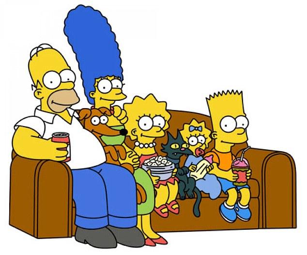 familia simpson - desene animate pentru adulti
