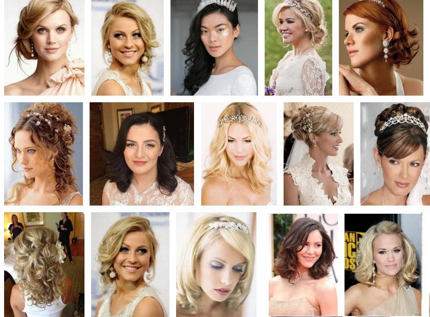 Coafuri par mediu nunta