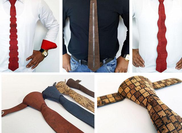 De ce sa alegem cravatele din piele vegetala de pluta cork boutique