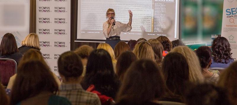 Femei de cariera – conferinta Woman2Woman.ro