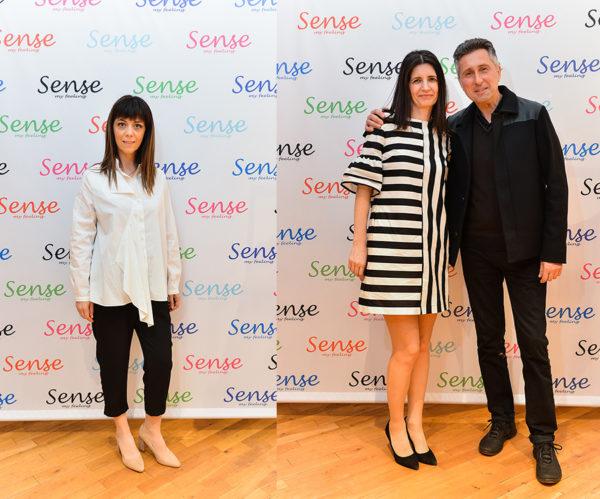 Andreea Tincu - designer Sense si fondatorii Sense: Cristina si Sorin Chiriac