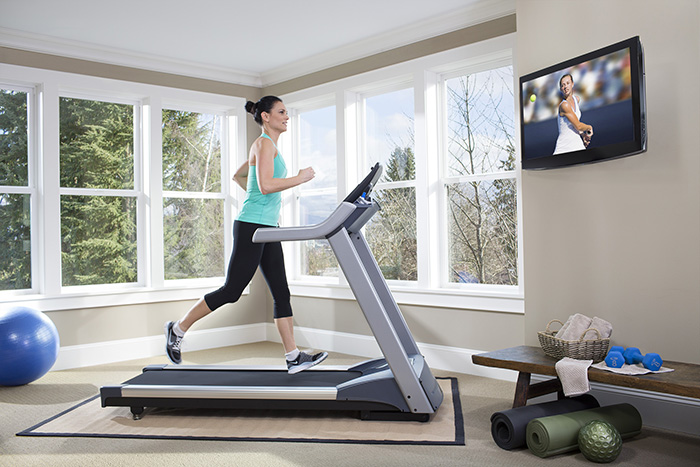Banda de alergare pentru antrenamentul acasa
