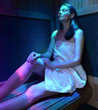 Sauna cu infrarosu - Sursa foto: Clinicaeliade.ro